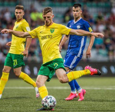 Dawid Kurminowski Akademia Warty Poznań gol strzelony dla MSK Żilina