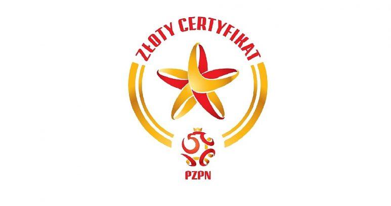 Akademia Warty Poznań ze złotym certyfikatem PZPN