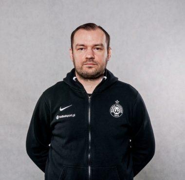 Marcin Ścisłowski psychologiem sportu w Akademii Warty Poznań