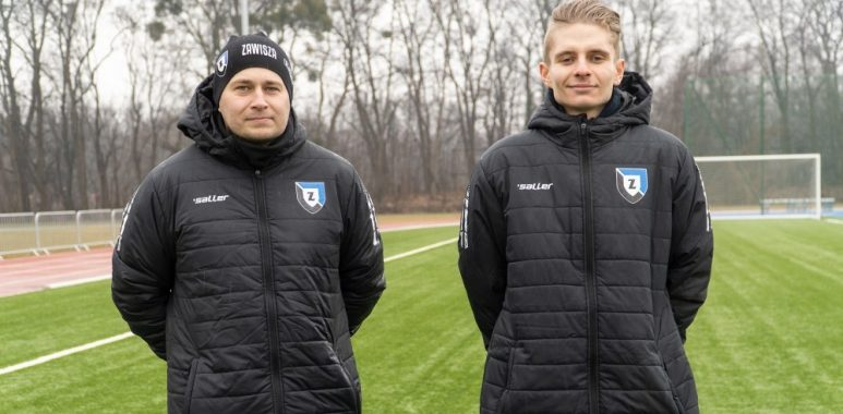 Trenerzy Zawiszy Bydgoszcz odbyli staż w Akademii Warty Poznań