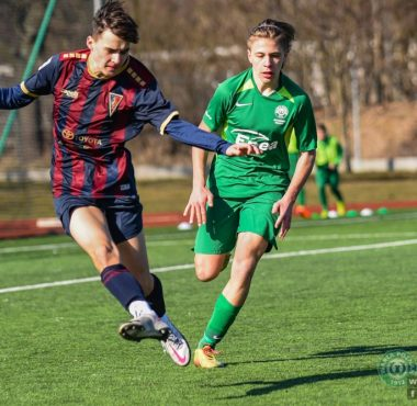 Trampkarze C1 w CLJ U-15 fot. sport.fotomm.pl