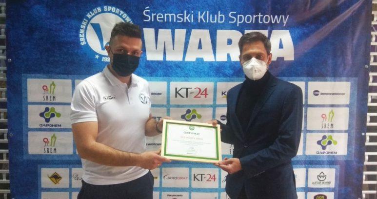 Warta Śrem klubem partnerskim Warty Poznań