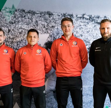 Trenerzy Akademii Piłkarskiej Błękitni Stargard odbyli staż w Akademii Warty Poznań
