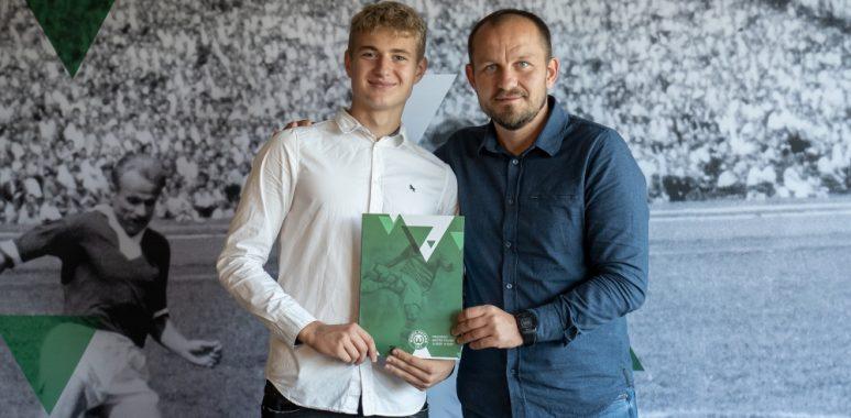 Bartosz Falbierski podpisał kontrakt z klubem